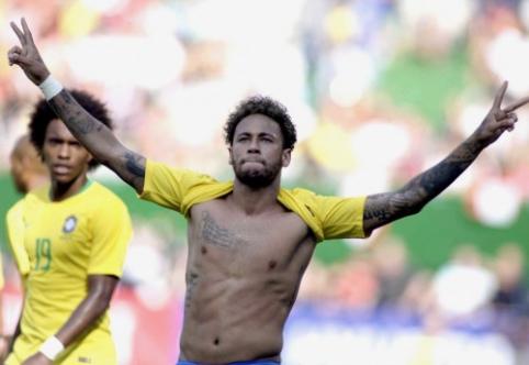 I. Rakitičius: Neymaras PSG gretose jaučiasi laimingas