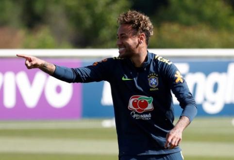 """""""Real"""" už Neymarą siūlys dar vieną rekordinę sumą"""
