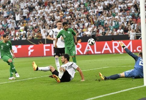 Draugiškose rungtynėse savo varžovus įveikė vokiečiai, kroatai ir šveicarai (VIDEO)