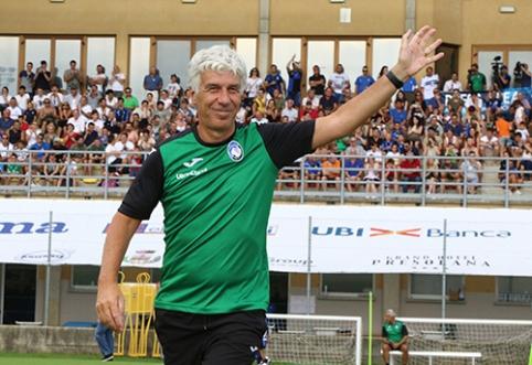"""""""Atalanta"""" treneris pasipiktino Europos institucijų sprendimais dėl """"Milan"""""""