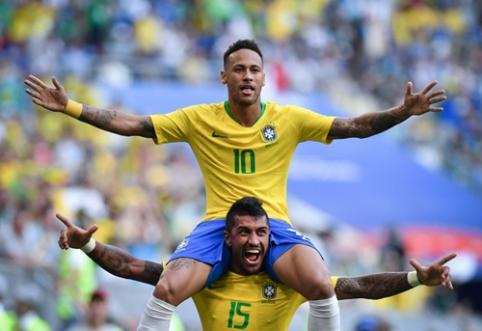 FIFA nustebino savo geriausiu pasaulio čempionato žaidėjų vienuoliktuku (FOTO)