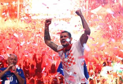 Kroatija triukšmingai sutiko savo didvyrius (VIDEO, FOTO)