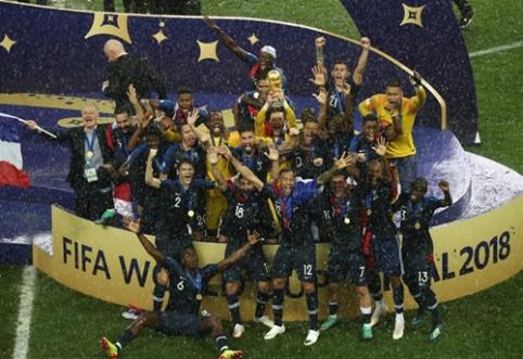 Keturis įvarčius finale įmušusi Prancūzija - naujoji pasaulio čempionė (VIDEO, FOTO)