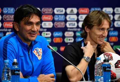 Z. Daličius apie Kroatijos pasiekimą: žinoma, kad nesitikėjome būti finale
