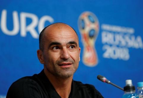 R. Martinezas tiki, kad Belgija yra pakankamai motyvuota kovoti dėl bronzos