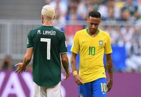 Su Neymaru į incidentą įsivėlusiam M. Layunui ir jo šeimai buvo grasinta
