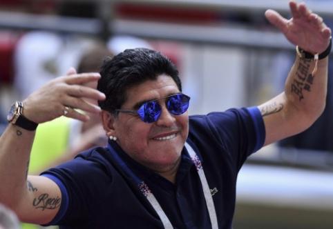 J. Guardiola: D. Maradona mums suteikė daug džiaugsmo