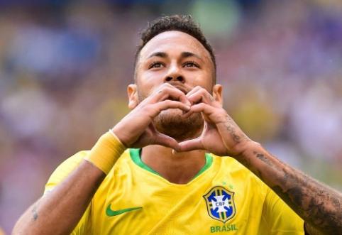 M. O'Neillas: Neymaro vaidyba yra visiškai apgailėtina