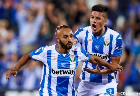 """""""Getafe"""" iškovojo pirmuosius taškus, El Zharo dublis atėmė pergalę iš """"La Real"""""""