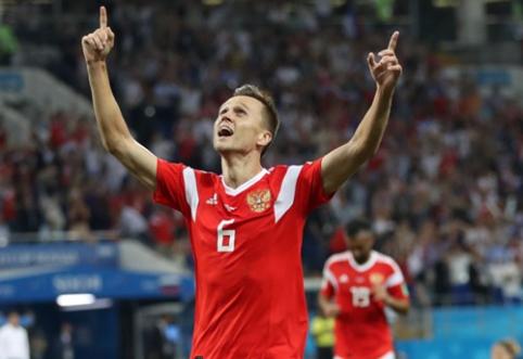"""Oficialu: """"Valencia"""" skolinasi Rusijos rinktinės herojų D. Čeryševą"""