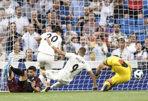 """Madrido """"Real"""" savo stadione nugalėjo """"Milan"""", """"Atletico"""" krito po fantastiško """"Inter"""" įvarčio (VIDEO)"""