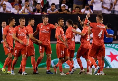 "G. Bale'as ir M. Asensio toliau veda į pergales Madrido ""Real"" (VIDEO)"