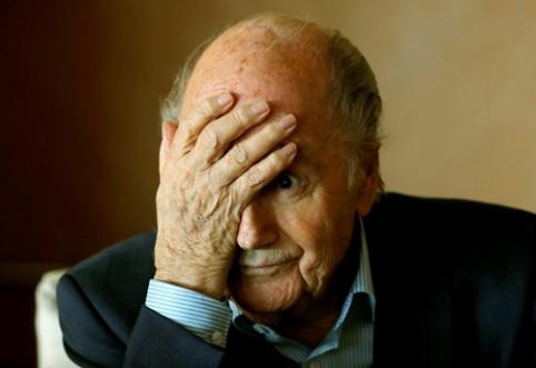 S. Blatteris: Katarui turėjo būti atimtos teisės į 2022 m. pasaulio čempionatą