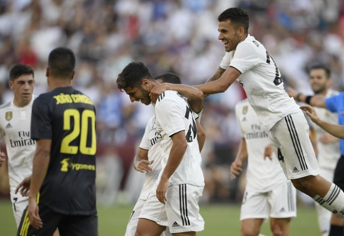"""Madrido """"Real"""" su M. Asensio nugalėjo """"Juvę"""", """"Barca"""" paskutinę minutę nusileido """"Milan"""" (VIDEO)"""