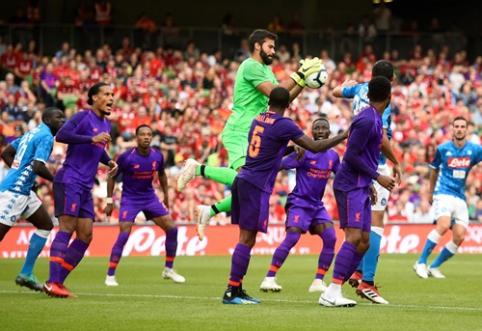 """""""Liverpool"""" pasismagino prieš """"Napoli"""", """"Tottenham"""" gavo antausį nuo """"La Liga"""" vidutiniokų (VIDEO)"""