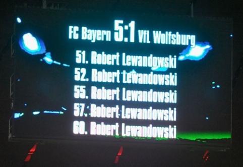 """Lygiai prieš tris metus Lewandowskis savo pasirodymu perrašė """"Bundesliga"""" istoriją"""
