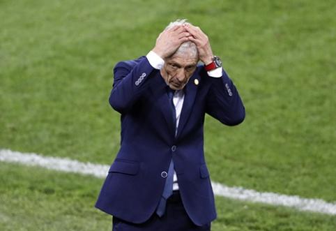 Kolumbijos rinktinė liko be trenerio