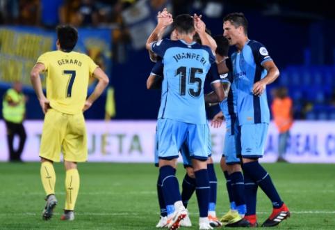 """3-asis turas Ispanijoje prasidėjo """"Villarreal"""" ir """"Real Sociedad"""" nesėkmėmis"""