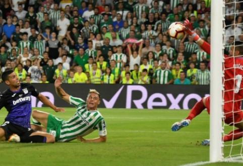 """Ispanijoje - """"Villarreal"""" pralaimėjimas ir """"Real Betis"""" pergalė"""