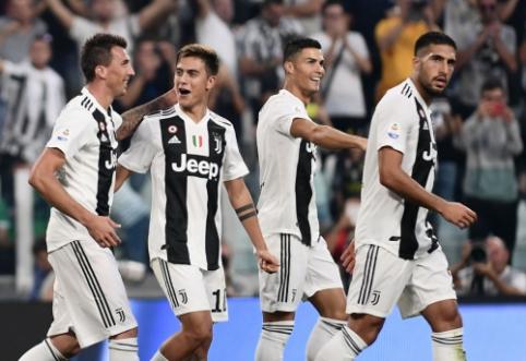 """Milžinų susirėmime Italijoje – """"Juventus"""" pergalė prieš """"Napoli"""" bei """"Roma"""" triumfas prieš """"Lazio"""" ir dar trys """"Inter"""" taškai"""