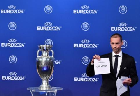 Oficialu: 2024 metų Europos čempionatas - Vokietijoje