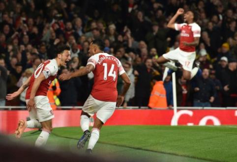 """M. Ozilo šou """"Emirates"""" stadione nulėmė jau septintą paeiliui """"Arsenal"""" pergalę """"Premier"""" lygoje"""