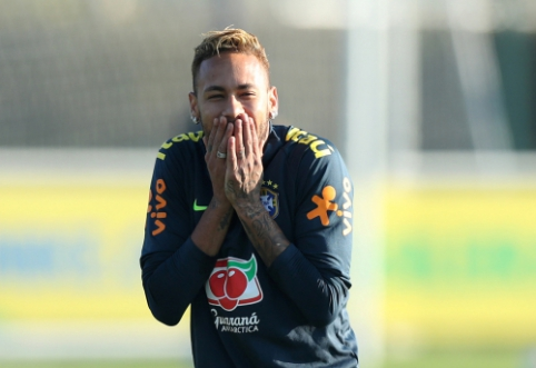 """J. Bartomeu: """"Neymaro nėra mūsų planuose"""""""