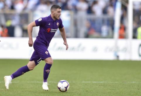 """""""Serie A"""": """"Fiorentina"""" ir """"Cagliari"""" pasidalino po tašką"""