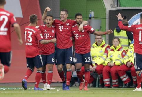 """""""Bayern"""" nutraukė pergalių badą """"Bundeslygoje"""""""