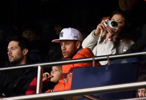 Neymaras ir PSG pasiekė žodinį susitarimą dėl žaidėjo paleidimo