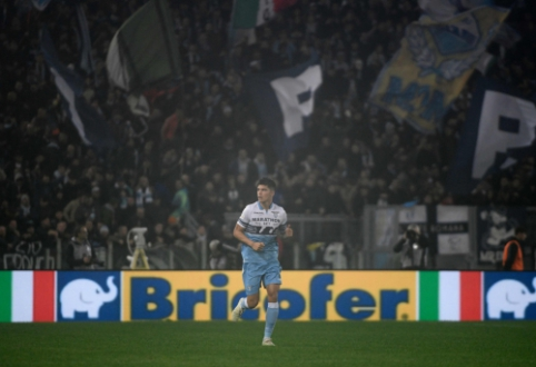 """""""Milan"""" – be pergalės: """"Lazio"""" išsigelbėjo per teisėjo pridėtą laiką"""
