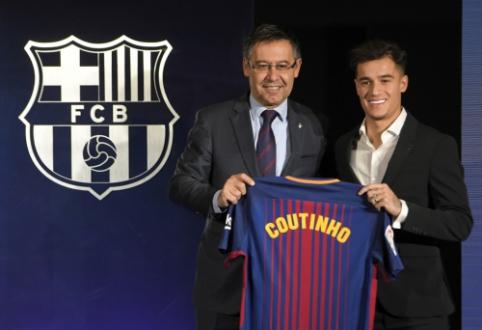 """P. Coutinho sandoris """"Liverpool"""" komandai garantavo apsaugą prieš """"Barcą"""""""