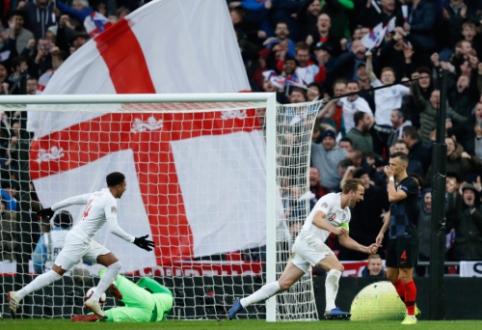 Dramatišką pergalę pasiekusi Anglija išsiuntė Kroatiją į B divizioną
