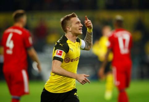 """Dukart atsilikinėję """"Borussia"""" futbolininkai po intensyvios kovos palaužė """"Bayern"""""""
