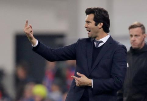 """Sausio mėnesiui 200 mln. eurų numatęs """"Real"""" vyr. trenerio pozicijoje paliks S. Solari"""