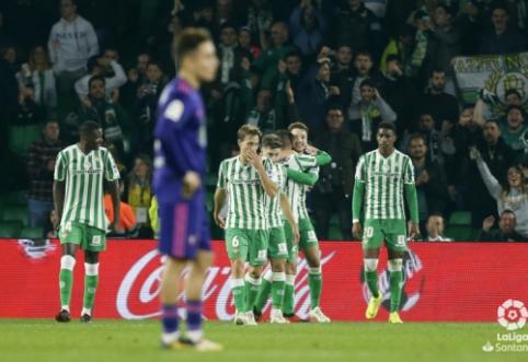 """Sevilijoje - neįtikėtina futbolo drama, pasibaigusi """"Real Betis"""" ir """"Celta"""" lygiosiomis"""