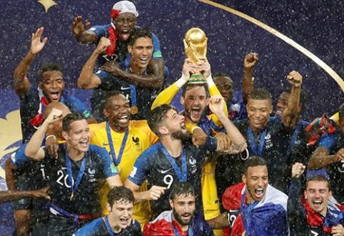 Dovana futbolo gerbėjams: visi pasaulio čempionato įvarčiai