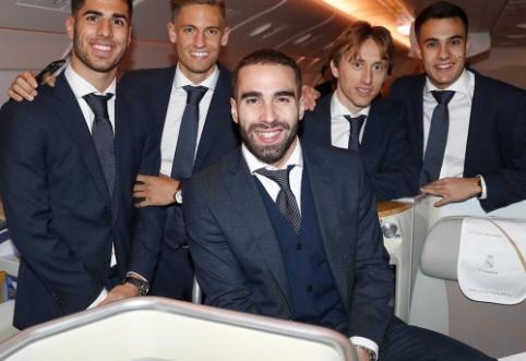 """Pergalingai Ispanijoje metus užbaigęs """"Real"""" išvyko į Abu Dabį ginti pasaulio čempionų vardo"""