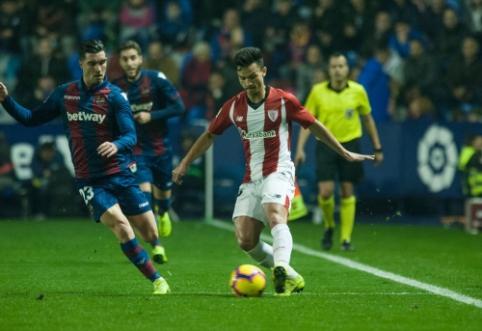 """""""Athletic"""" toliau ritasi į žemumas Ispanijos pirmenybėse"""