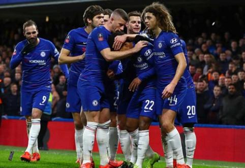 """FA taurėje – """"Man Utd"""" ir """"Chelsea"""" klubų susirėmimas"""