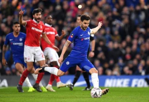 """FA taurė: """"Man Utd"""" pergalė ir C. Fabregaso atsisveikinimas su """"Chelsea"""""""