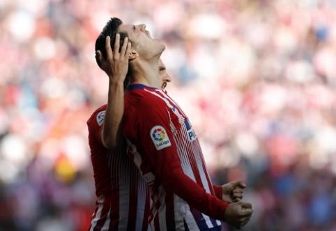 "A. Morata pasižymėjo pirmuoju įvarčiu, o ""Atletico"" nugalėjo ""Villarreal"""