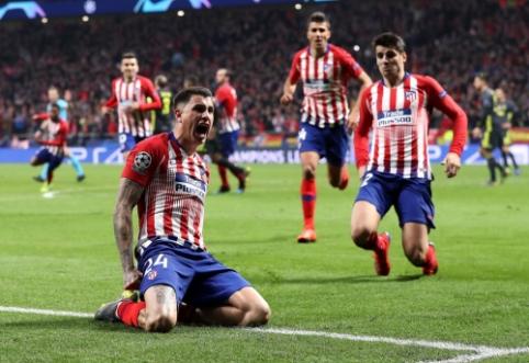 """ČL: """"Atletico"""" parbloškė """"Juventus"""", """"Man City"""" pasiekė dramatišką pergalę Vokietijoje"""