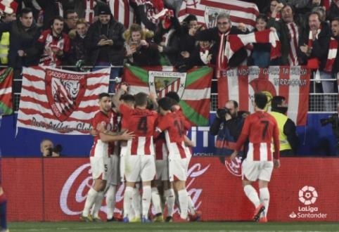 """Ispanijoje – minimali """"Athletic"""" ekipos pergalė"""