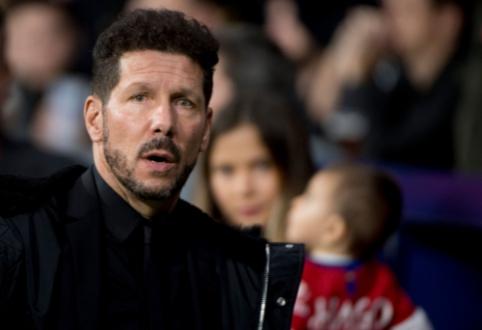 """Oficialu: D. Simeone susiejo ateitį su Madrido """"Atletico"""" klubu"""