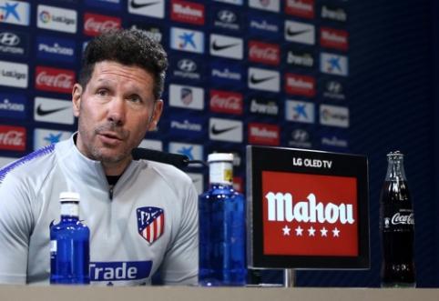 """D. Simeone: """"Madride niekas nepasikeitė – Modričius yra svarbiausias jų žaidėjas"""""""