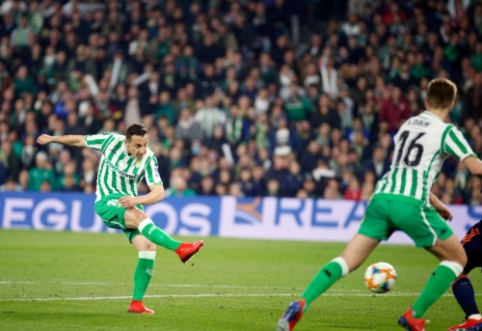 """Karaliaus taurė: """"Real Betis"""" iššvaistė dviejų įvarčių pranašumą prieš """"Valencia"""""""