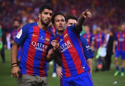 L. Suarezas sutiktų vėl rungtyniauti kartu su Neymaru