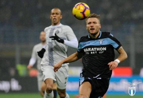 """""""Coppa Italia"""": """"Lazio"""" po 11 m. baudinių serijos žengė į pusfinalį"""