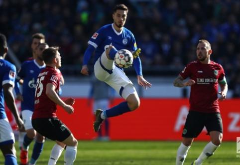 "Vokietijoje pergales šventė ""Eintracht"" ir ""Schalke"" ekipos"